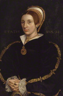 NPG 1119; Unknown woman, formerly known as Catherine Howard after Hans Holbein the Younger