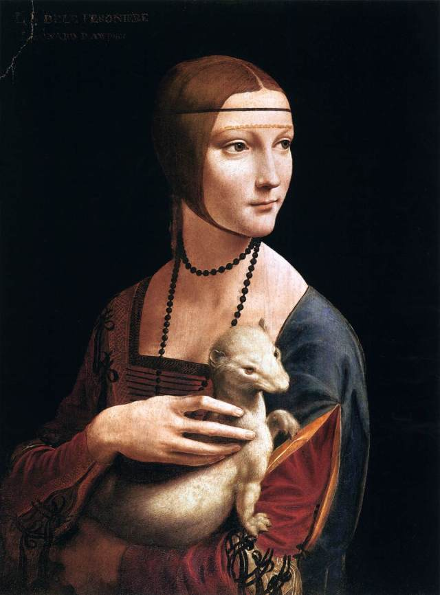 Leonardo_da_Vinci_-_Portrait_of_Cecilia_Gallerani_(Lady_with_an_Ermine)_-_WGA12698