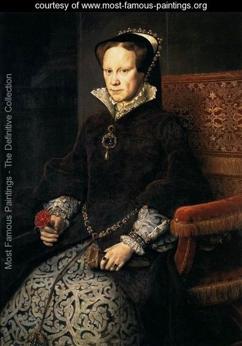 Queen-Mary-Tudor-of-England-1554