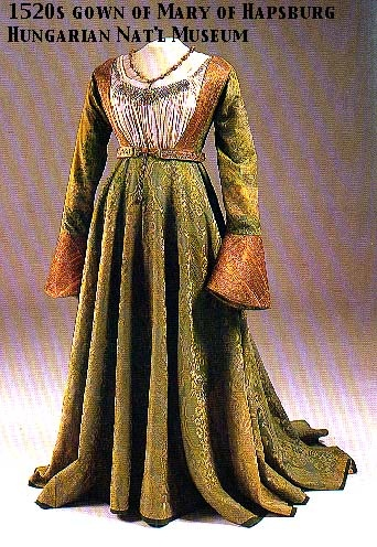 mary of hapsberg gown 1520